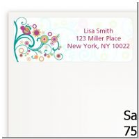Baby Sprinkle - Baby Shower Return Address Labels