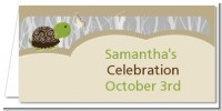 Baby Turtle Neutral - Personalized Baby Shower Place Cards