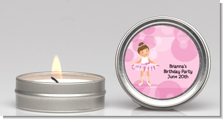 Ballet Dancer - Birthday Party Candle Favors