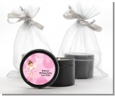 Ballet Dancer - Birthday Party Black Candle Tin Favors