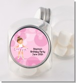 Ballet Dancer - Personalized Birthday Party Candy Jar