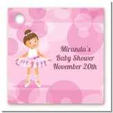 Ballet Dancer - Personalized Birthday Party Card Stock Favor Tags