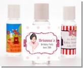 Ballerina - Personalized Birthday Party Hand Sanitizers Favors