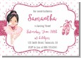 Ballerina - Birthday Party Invitations thumbnail
