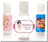 Ballerina - Personalized Birthday Party Lotion Favors