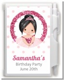 Ballerina - Birthday Party Personalized Notebook Favor