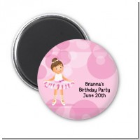 Ballet Dancer - Personalized Birthday Party Magnet Favors