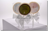 Baptism  Lollipop Favors