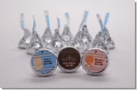 Baptism Hershey Kiss Stickers