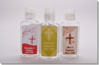 Christening Hand Sanitizer Favors