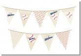Little Slugger Baseball - Baby Shower Themed Pennant Set
