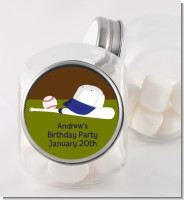 Baseball - Personalized Birthday Party Candy Jar