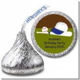 Baseball - Hershey Kiss Birthday Party Sticker Labels