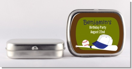 Baseball - Personalized Birthday Party Mint Tins