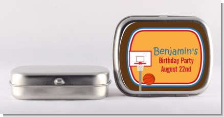 Basketball - Personalized Birthday Party Mint Tins