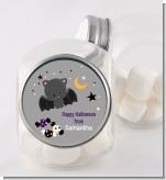 Bat - Personalized Halloween Candy Jar