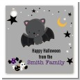 Bat - Personalized Halloween Card Stock Favor Tags thumbnail