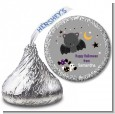 Bat - Hershey Kiss Halloween Sticker Labels thumbnail