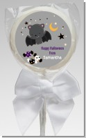 Bat - Personalized Halloween Lollipop Favors