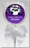 Bats On A Branch - Personalized Halloween Lollipop Favors
