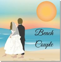 Beach Couple Bridal Theme