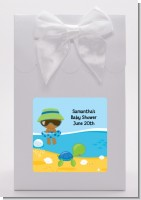 Beach Baby African American Boy - Baby Shower Goodie Bags