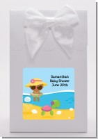 Beach Baby African American Girl - Baby Shower Goodie Bags