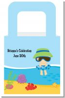 Beach Baby Boy - Personalized Baby Shower Favor Boxes