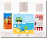 Beach Baby Boy - Personalized Baby Shower Hand Sanitizers Favors