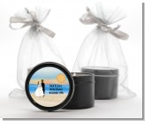 Beach Couple - Bridal Shower Black Candle Tin Favors