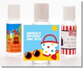 Beach Toys - Personalized Birthday Party Hand Sanitizers Favors