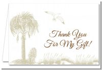 Beach Scene - Bridal | Wedding Thank You Cards
