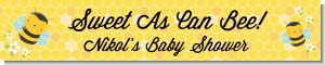 Mommy To Bee - Personalized Baby Shower Banners