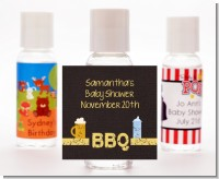 Beer and Baby Talk - Personalized Baby Shower Hand Sanitizers Favors