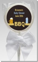 Beer and Baby Talk - Personalized Baby Shower Lollipop Favors