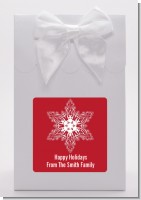 Big Red Snowflake - Christmas Goodie Bags
