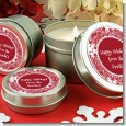 Big Red Snowflake - Christmas Candle Favors thumbnail