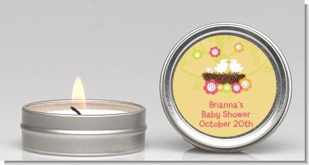 Bird's Nest - Baby Shower Candle Favors