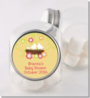 Bird's Nest - Personalized Baby Shower Candy Jar