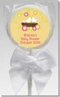 Bird's Nest - Personalized Baby Shower Lollipop Favors