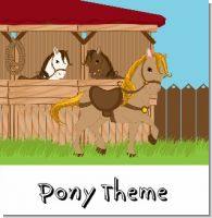 Pony Birthday Party Theme