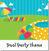 Pool Party Birthday Party Theme