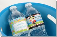 1st Birthday Water Bottle Labels