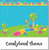 Candy Land Birthday Party Theme