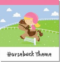 Horseback Riding Birthday Party Theme