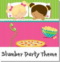 Slumber Party Birthday Party Theme