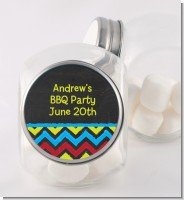 Birthday Boy Chalk Inspired - Personalized Birthday Party Candy Jar