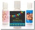 Birthday Boy Chalk Inspired - Personalized Birthday Party Lotion Favors thumbnail