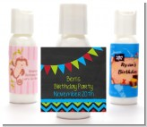 Birthday Boy Chalk Inspired - Personalized Birthday Party Lotion Favors