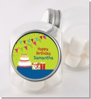 Birthday Cake - Personalized Birthday Party Candy Jar